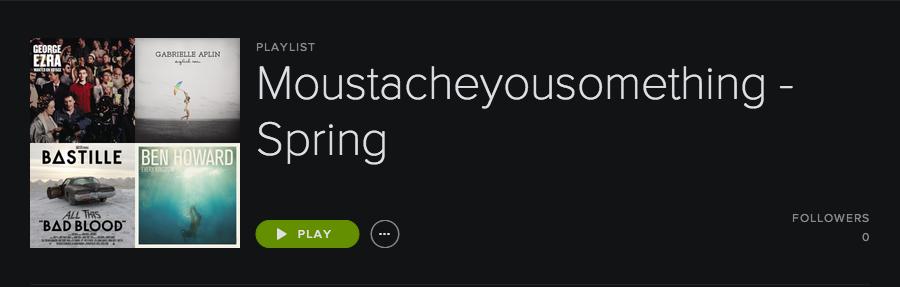 Playlist – Spring