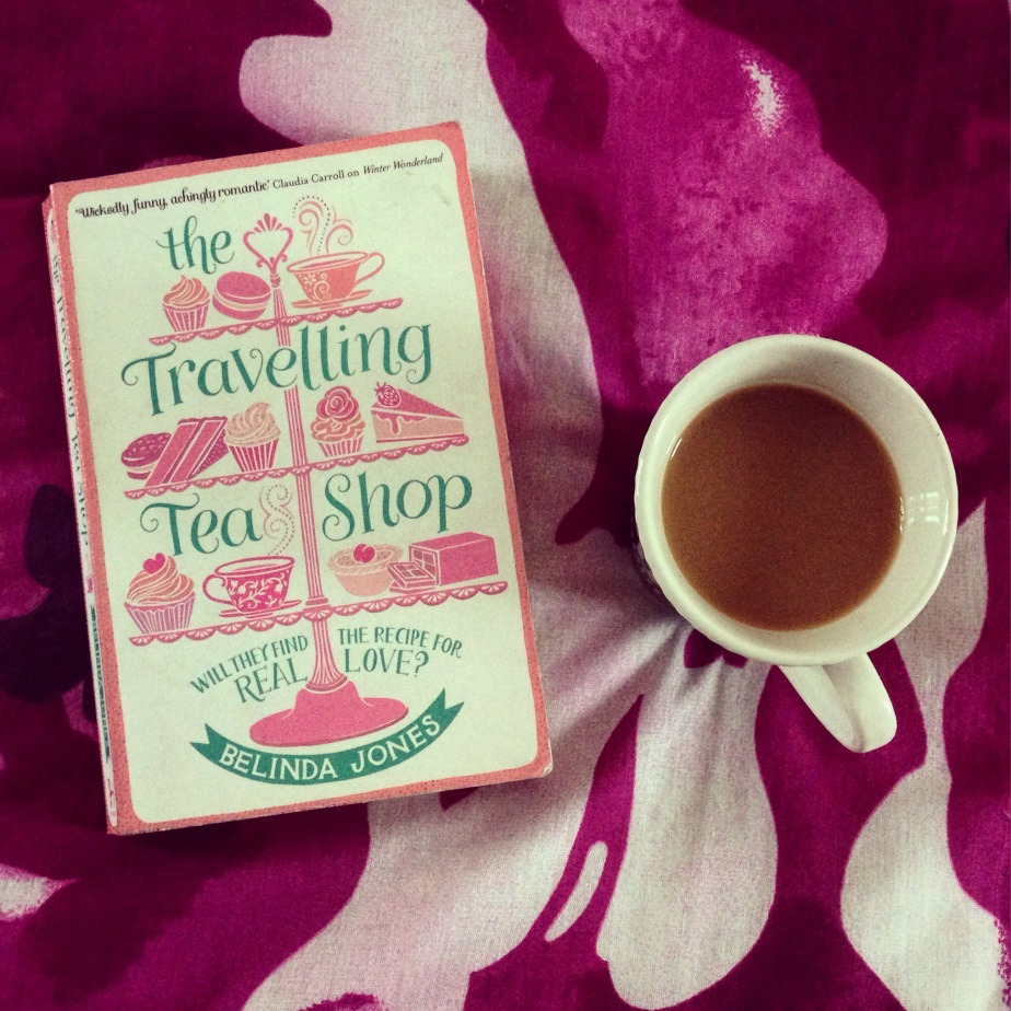 Book Review – Belinda Jones – The Travelling Tea Shop