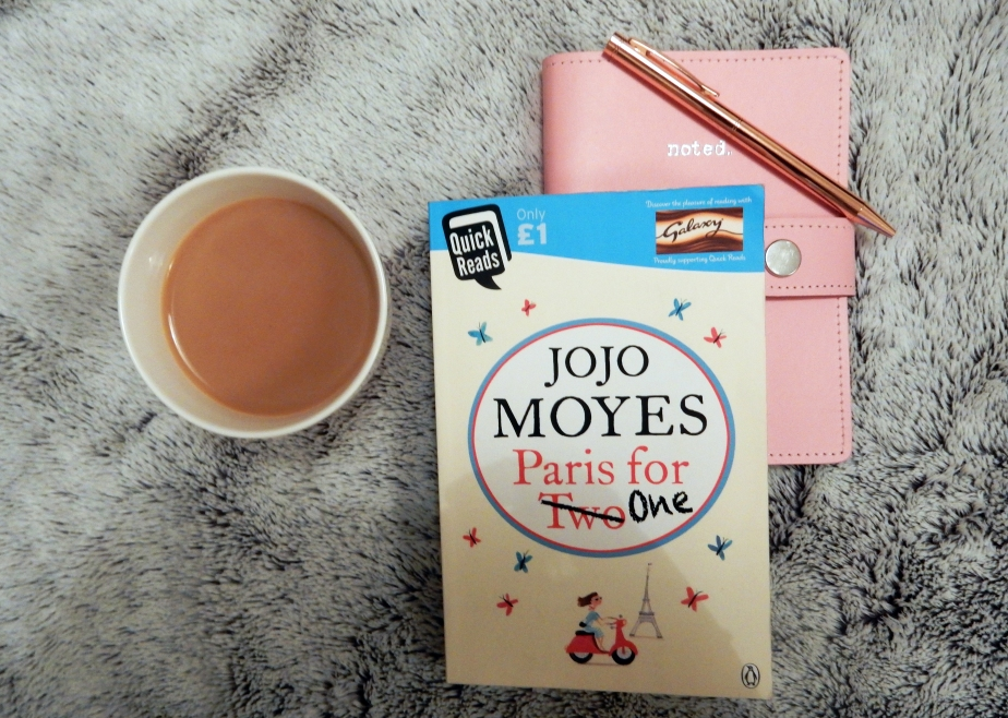 Book Review – Jojo Moyes – Paris for one