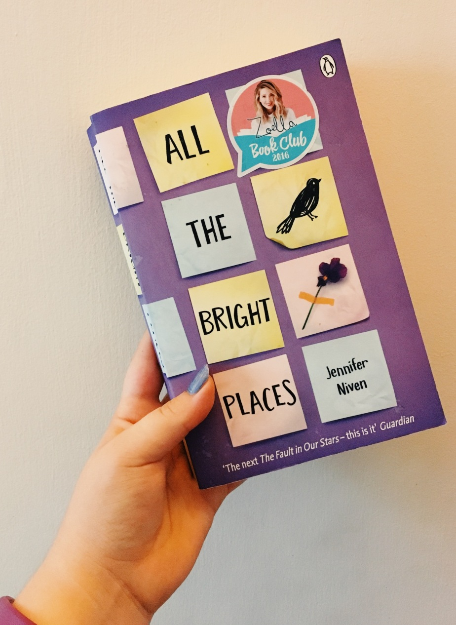 All the Bright Places – Jennifer Niven –Review