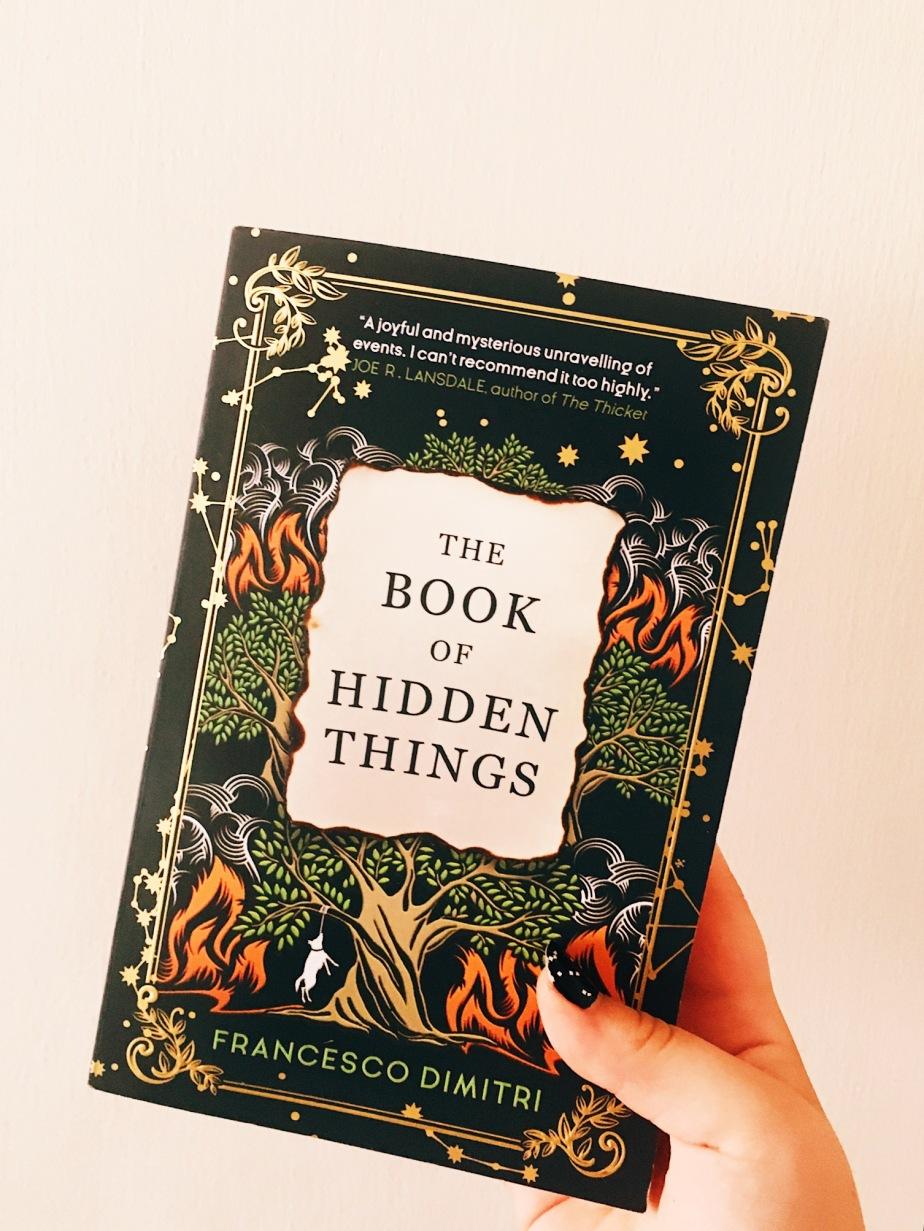 The Book of Hidden Things – Francesco Dimitri –Review